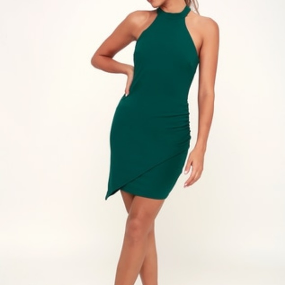 Lulu's Dresses & Skirts - Lulus You Can't Ruche Love Ruched Bodycon Dress M